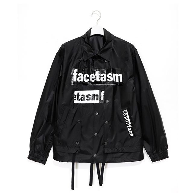 FACETASM ファセッタズム  LAYERED COACH JACKET