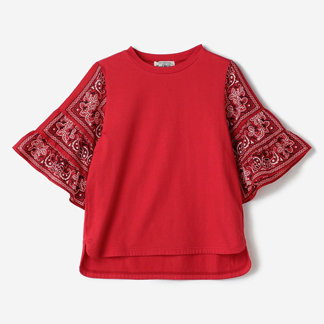【CONVERSE TOKYO × MUVEIL】  バンダナイチゴTシャツ