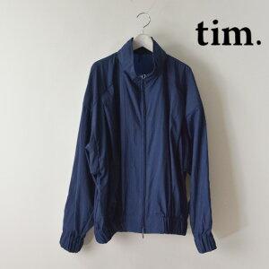 tim. TAIKIMATSUMURA/ティム / ナイロンタフタパンプキンブルゾン