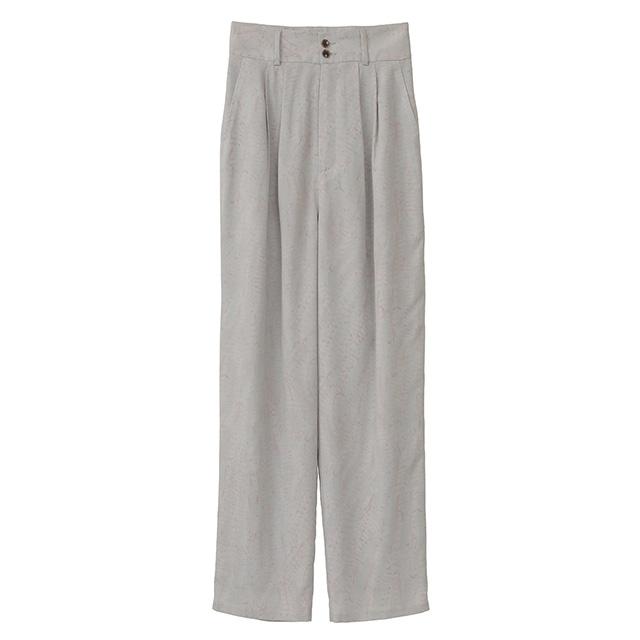 CLANE / クラネ HIGH WAIST PYTHON PANTS
