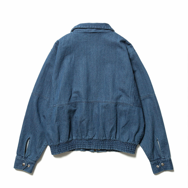 FILL THE BILL /  フィルザビル  OVERSIZED BROKEN DENIM JACKET