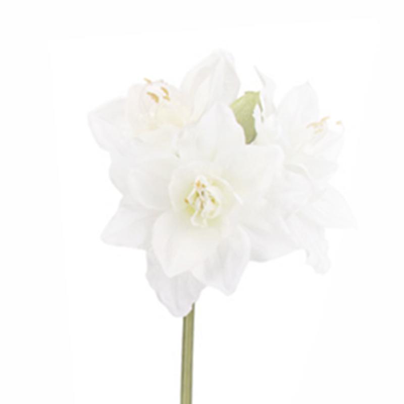 フレッシュアマリリス ホワイト 造花FLS-5226【doga(ドガ)】