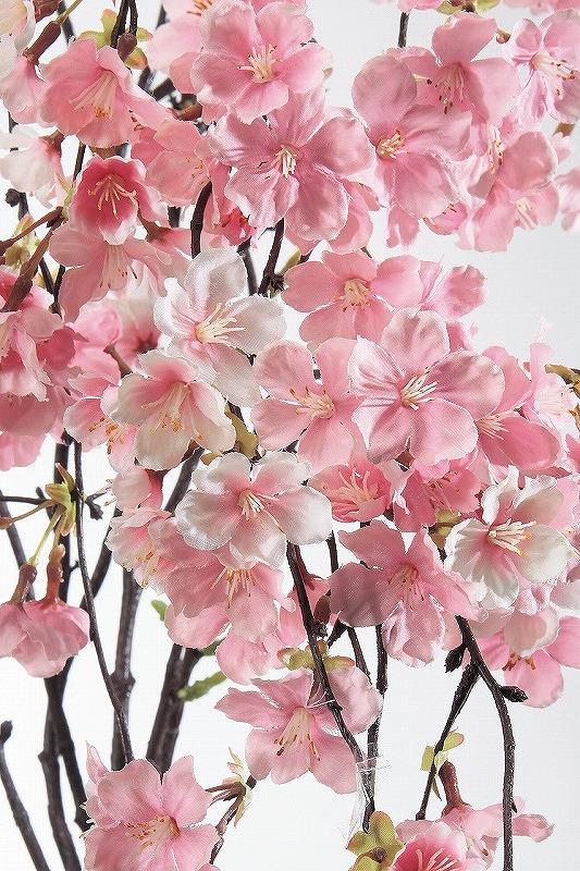 A-33543-003 造花 しだれ桜×85 つぼみ×6 ピンク 【asca】