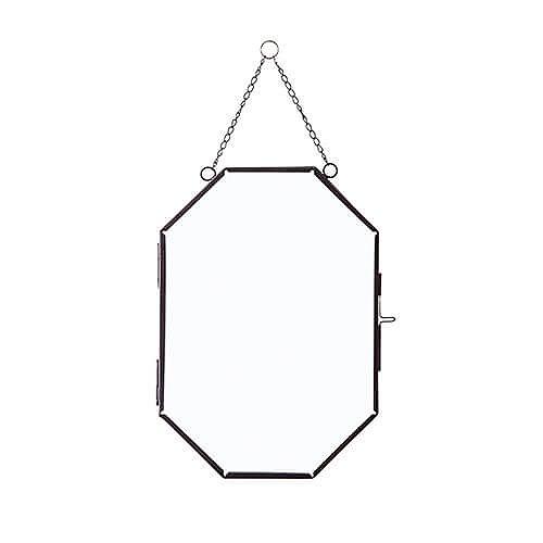 ガラスフレーム オクト ブラック フレーム 22605 【ポッシュリビング】