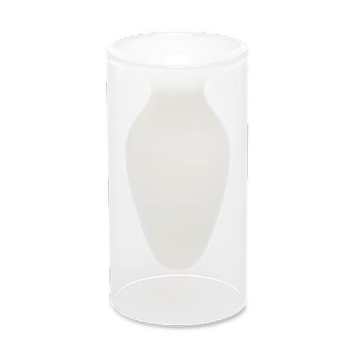 フロートベース ホワイト 22655 花器 【ポッシュリビング】
