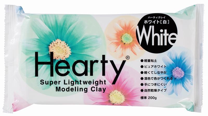ハーティクレイ ホワイト200G 粘土 パジコ