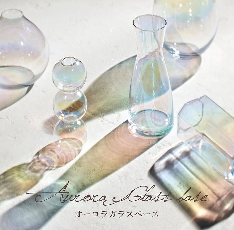 AR-04 オーロラカラーガラスベース 【Paseo】