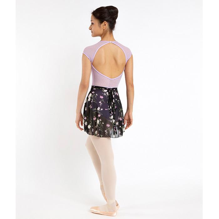花柄シフォン巻きスカート(この商品は在庫限りになります)