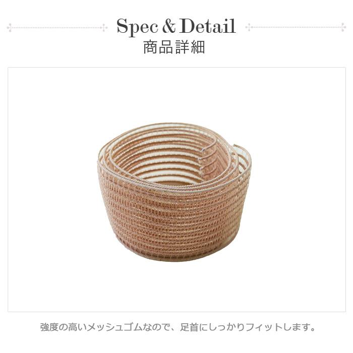 【サンシャ】トウシューズ用メッシュゴム ロール売り 30m (幅3cm)