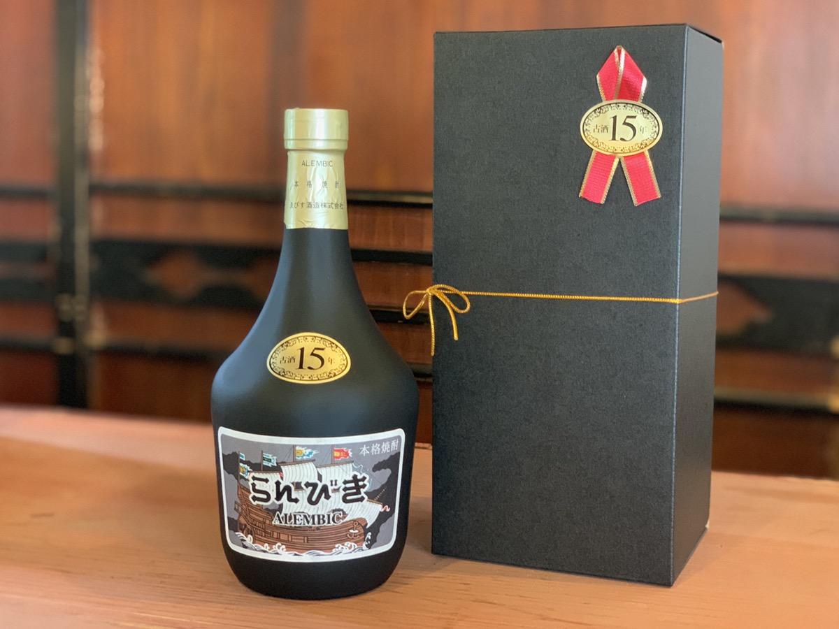 らんびき 15年古酒 720ml