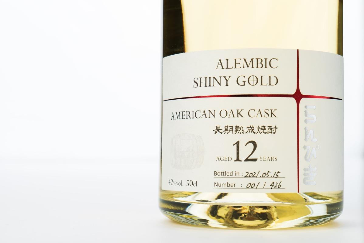 【ゑびす酒造】らんびき SHINY GOLD AMERICAN OAK CASK 500ml