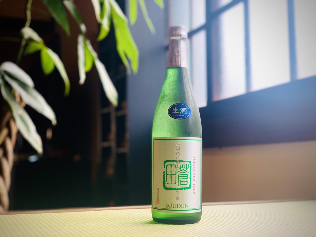 【喜多屋】 特別純米酒 蒼田 夏の生酒 720ml