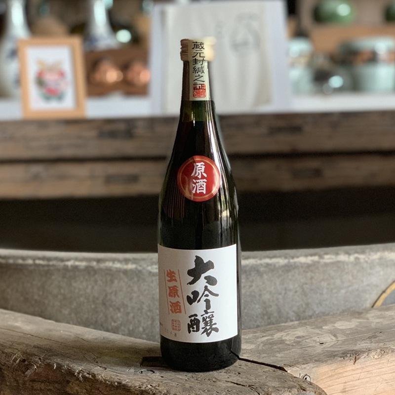 【旭松酒造】大吟醸 生原酒 720ml