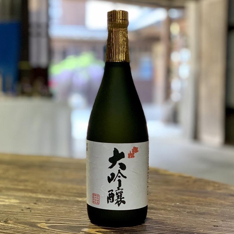 【旭松酒造】 清酒旭松 大吟醸 720ml