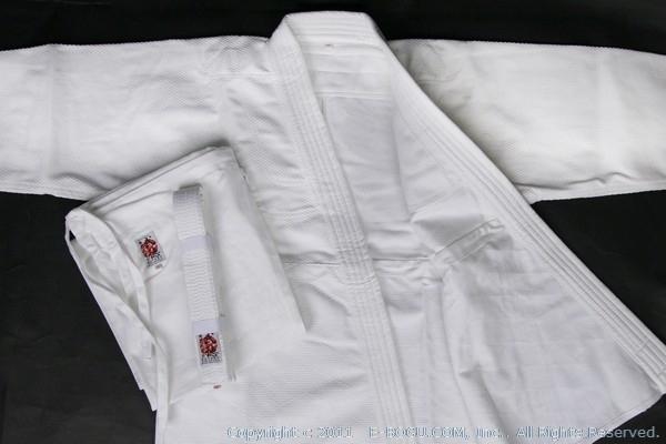高級450G柔道衣セット(白晒)