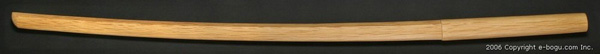 少年用 赤樫木刀(中刀)