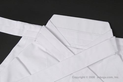 最高級ポリエステル袴(白) サイズ21〜24号