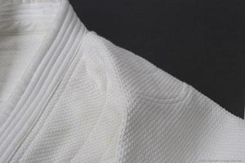 最高級【武徳】ブランド二重合気道衣セット(白)