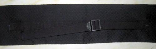 「肩掛け付き」竹刀袋【略式剣道衣素材三本入】 紺