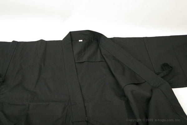 特製居合道衣【黒】