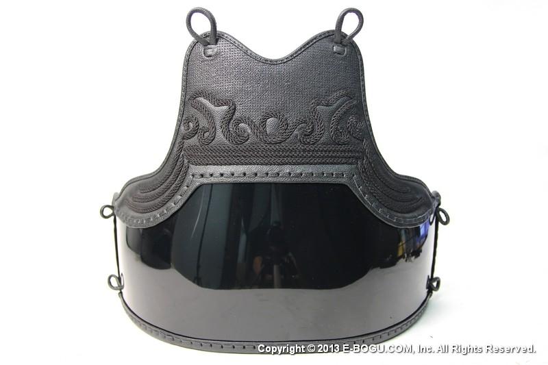 剣道具 胸デザイン自由指定可能 黒樹脂胴 (※受注生産商品)