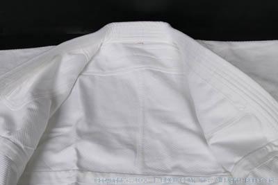 高級450G合気道衣セット(白晒)