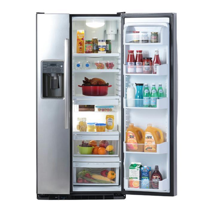 マーベ(mabe) 冷凍冷蔵庫 MSM23HS SS(ステンレス) 運賃込み