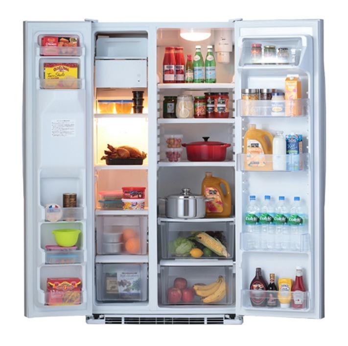 マーベ(mabe) 冷凍冷蔵庫 MSMF2LG WW(ホワイト) 運賃込み