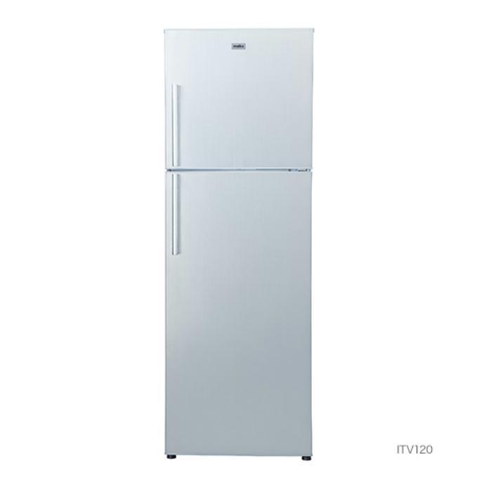 マーベ(mabe) 冷凍冷蔵庫 ITV120(ステンレス調・グレー) 運賃込み