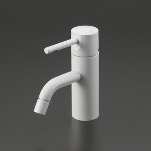 KVK 洗面用シングルレバー式混合栓 マットホワイト(白) KM7021M4