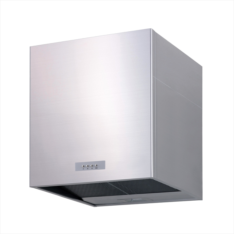 渡辺製作所 ボックス型レンジフード アイランドセットWMS60AS W600×H600×D625 ステンレス+(W600用背面パネル 横幕板2枚付)