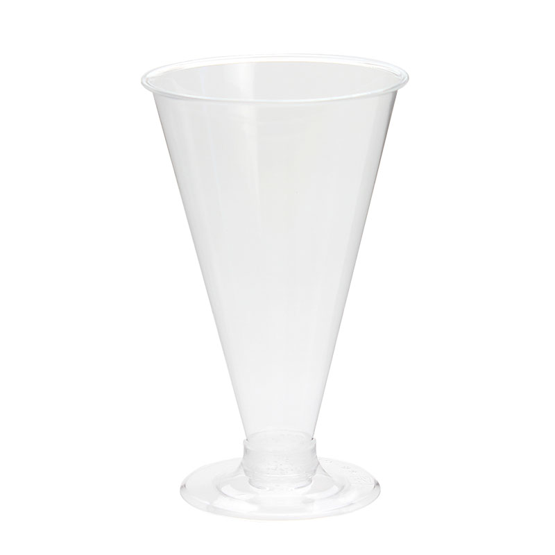 プラスチック シャンパングラス プロマックス DI-200AC 台座付き デザートカップ 50個セット