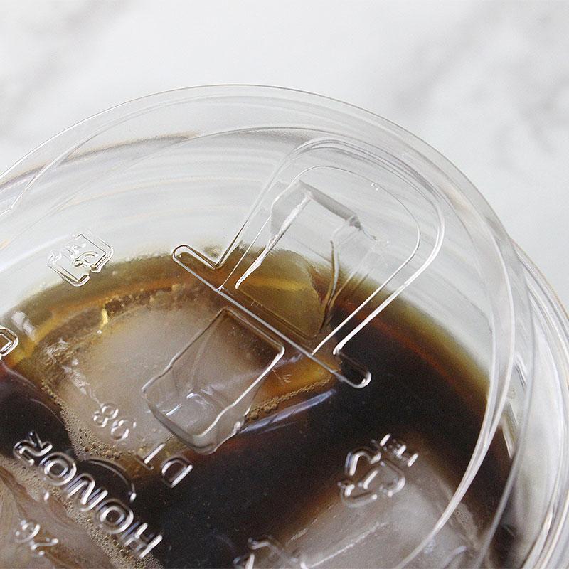 プラスチックカップ蓋 HONOR φ98 PEダイレクトリッド DT-98 50個