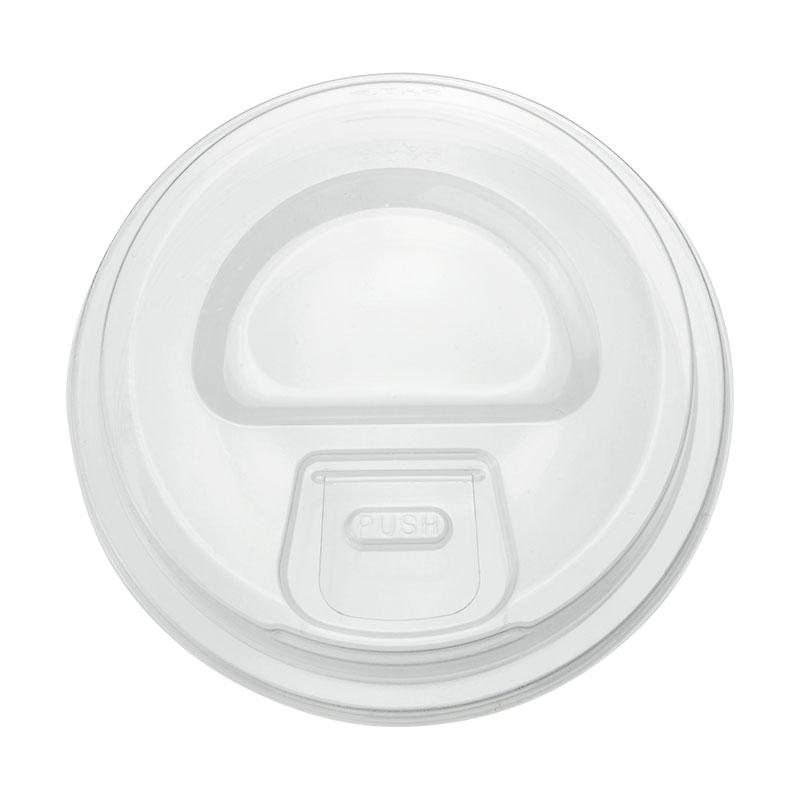 プラスチックカップ蓋 TAPS 92Φ用ストローレスリッド(プッシュダウン式) 100枚