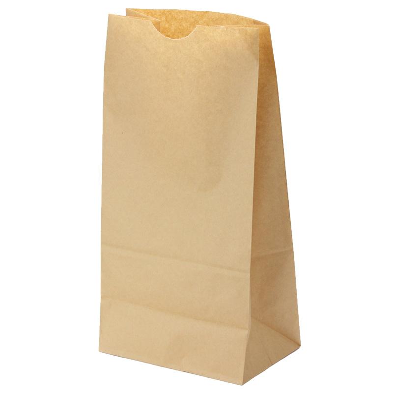 紙袋 角底袋 未晒12号 テイクアウト用 500枚