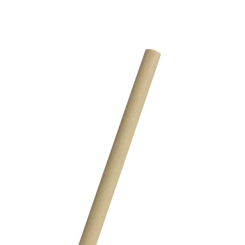 エコストロー 竹ストロー φ6x210mm 平口 裸 500本