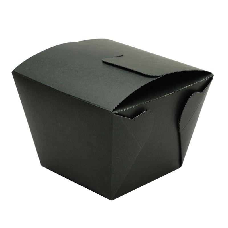 フードボックス デリメイト8080 ブラック テイクアウト用 25個