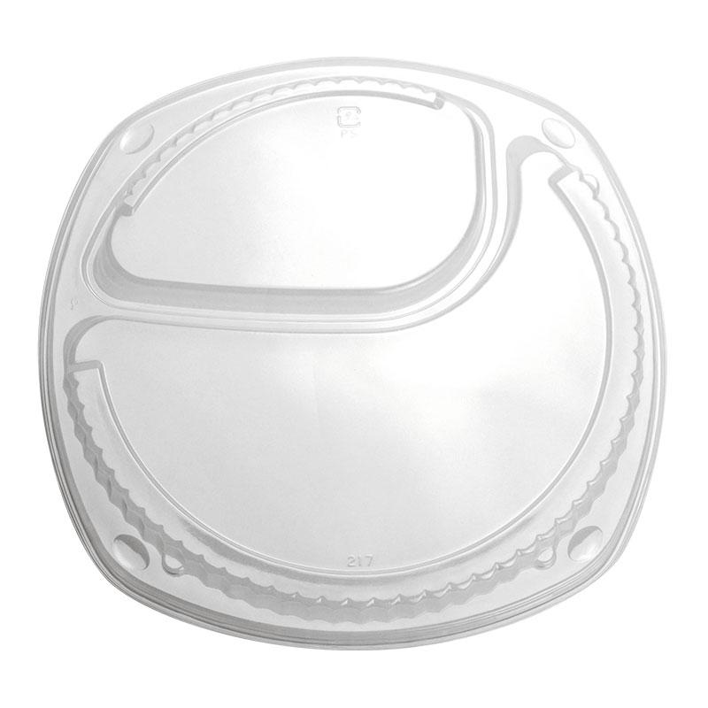 カレー容器 弁当容器 BF-217 透明外嵌合蓋 テイクアウト用 50個
