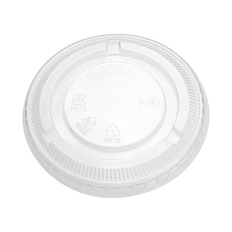 プラスチックカップ蓋 HONOR9・12オンス用 平リッド 穴無 F-92N 50個