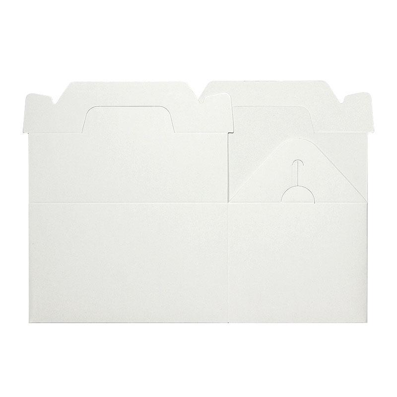 テイクアウト用手提ケーキ箱 白 3.5x5 100枚