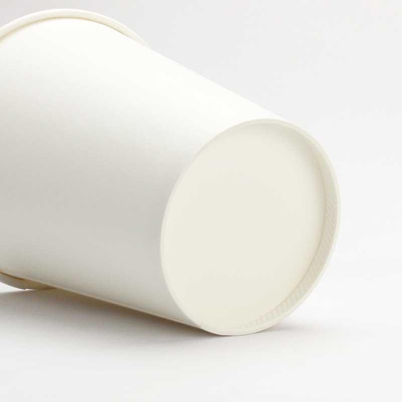 紙コップ 8オンス 厚紙カップ トーカン SMT-280 白 50個