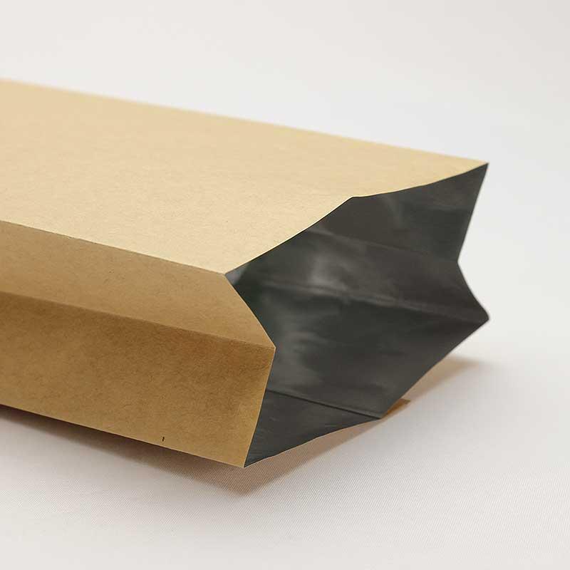 コーヒー豆袋 未晒クラフトガゼット袋 200−300g 100枚