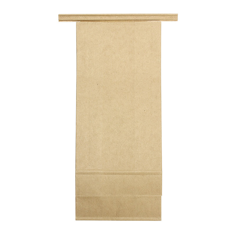 コーヒー豆袋 ワイヤー付 未晒クラフト角底袋 200〜300g用 100枚
