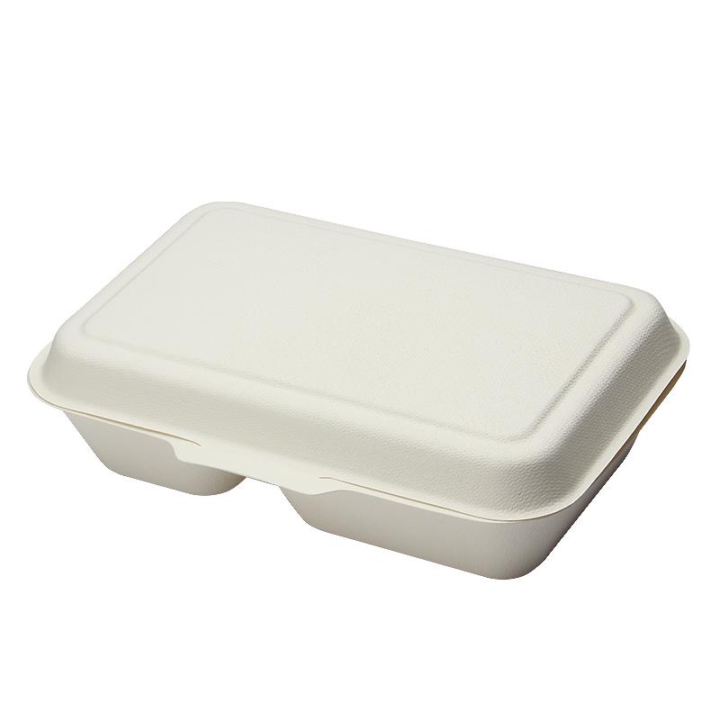 弁当容器 モールドパック容器 仕切付 白 MP-7 50枚