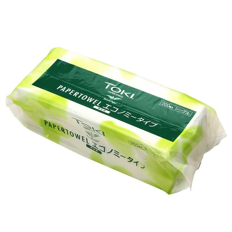 紙タオル 業務用 TOKI エコノミーサイズ ペーパータオル 8,400枚