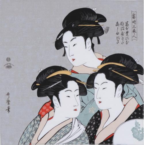 チーフ 隅田川 寛政三美人