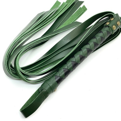 バラ鞭コンビ(黒×グリーン)