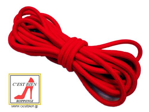 本格 SMロープ 5m(赤)