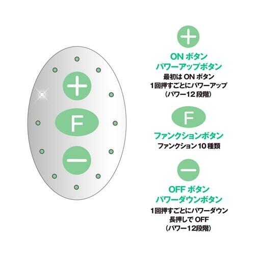 ピンクローターType-R MINI CCグリーン
