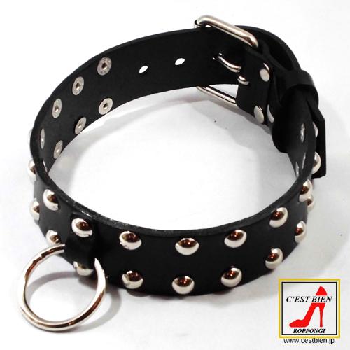 奴隷女の首輪 M(黒)